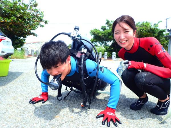 8月25日 体験ダイビングブログ