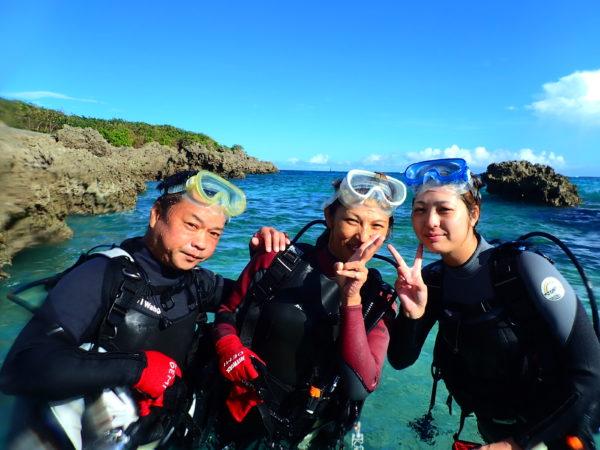8月29日 宮古島!体験ダイビング日記!