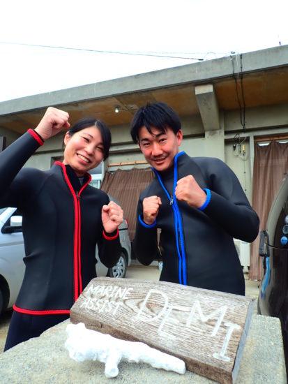 お客様の声 11月8日宮古島!体験ダイビングツアー!②