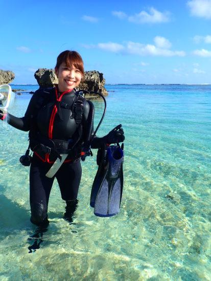お客様の声 1月15日宮古島!体験ダイビングツアー!