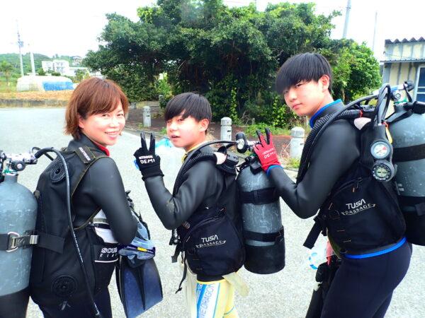 お客様の声 3月31日宮古島!体験ダイビングツアー!
