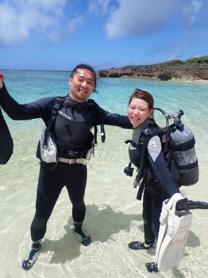 7月4日 宮古島!体験ダイビング日記!