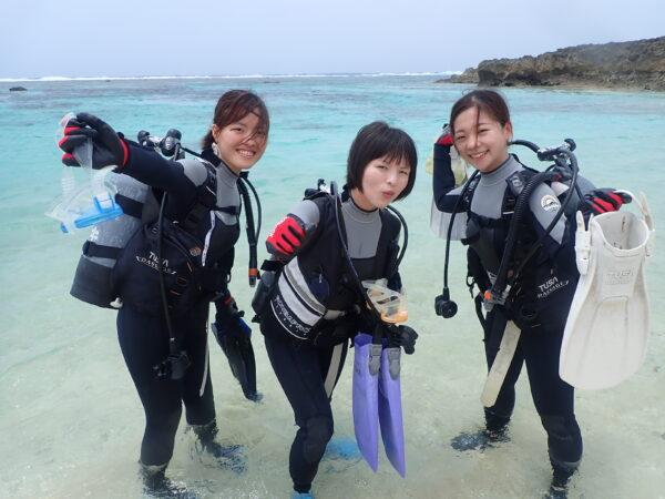 8月7日 宮古島!体験ダイビング日記!