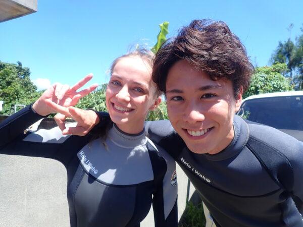 8月30日 宮古島!体験ダイビング日記!