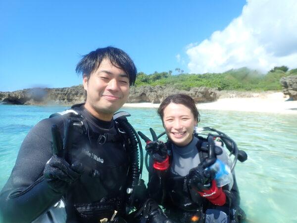 9月19日 宮古島!体験ダイビング日記!
